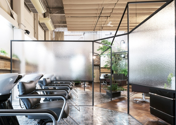 Vision atelier hair salon by takehiko nez architects for A visionary salon