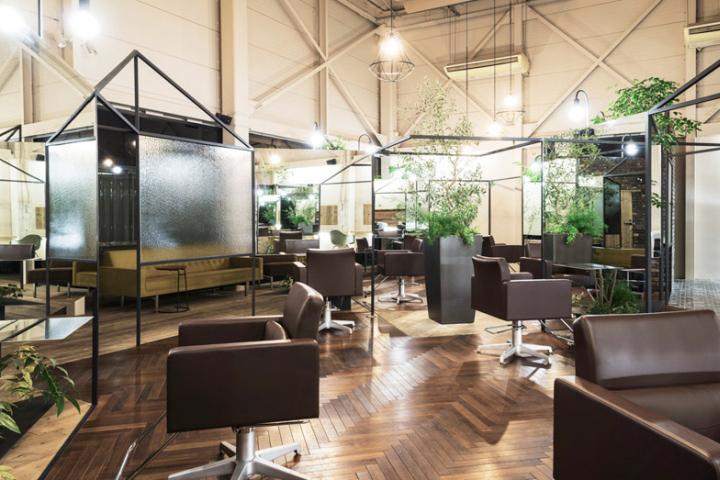 187 Vision Atelier Hair Salon By Takehiko Nez Architects