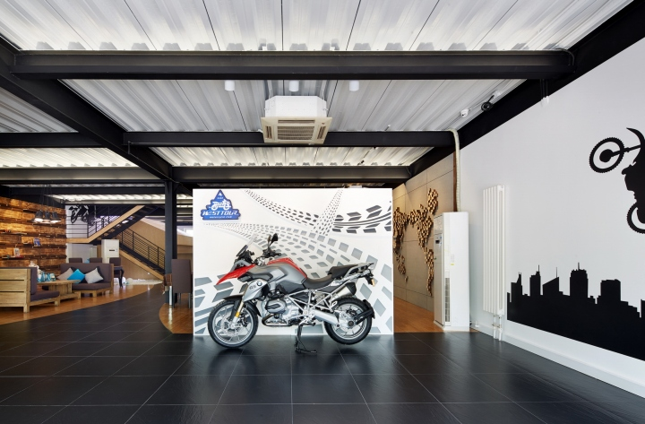 Westtour – BMW Motorrad Club by David Ho Design Studio, Beijing ...