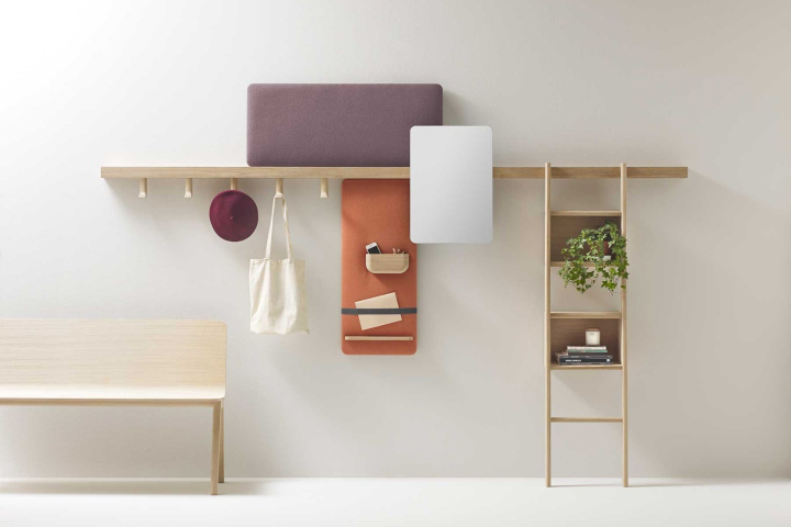 New From The French Studio Alki Zutik Is A Wall Mounted Design For Keeping One S Things Organized Made Of Solid Wood And Composed