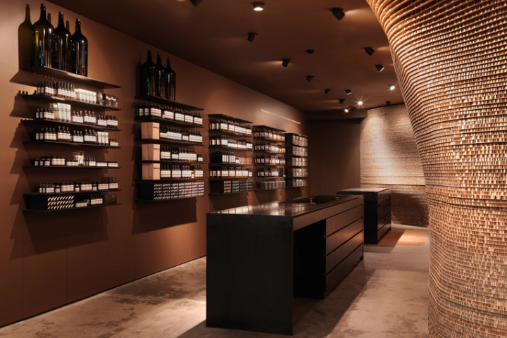 The Aesop Store On Melbournes Flinders Lane Was One Of Brands First To Open And Help Cement Reputation For Innovative Design