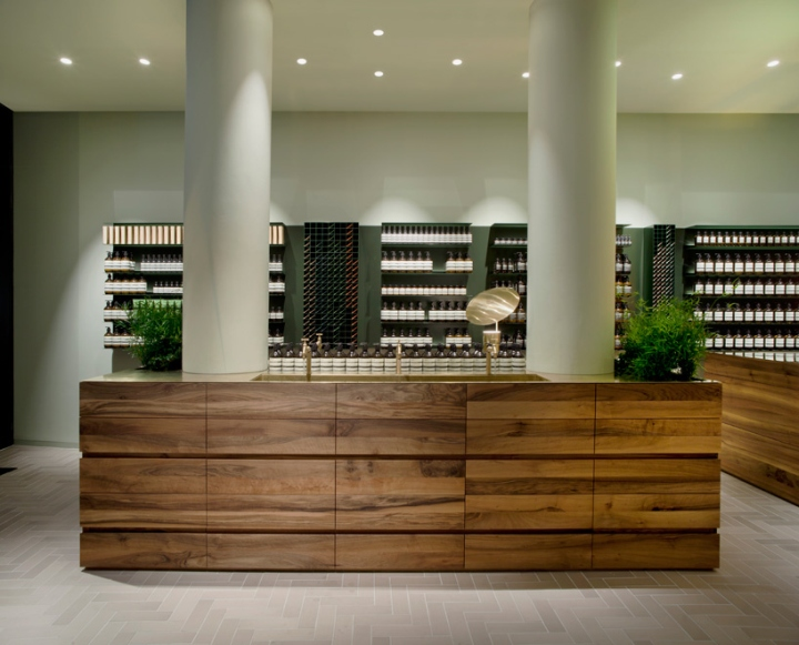 Aesop store by philipp mainzer frankfurt germany for Interior design frankfurt