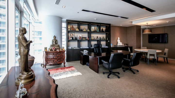 187 Baan Rajprasong Executive Office By Mada Bangkok Thailand