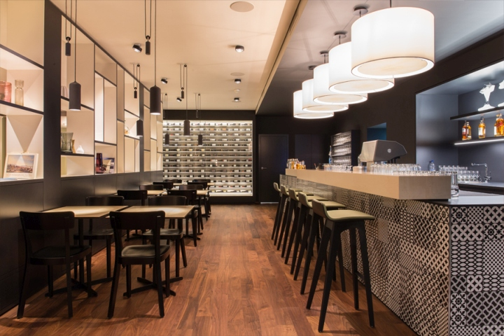 Brasserie löwen restaurant by barmade interior design