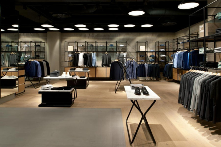 187 Breuninger Department Store Menswear Area By Brinkworth