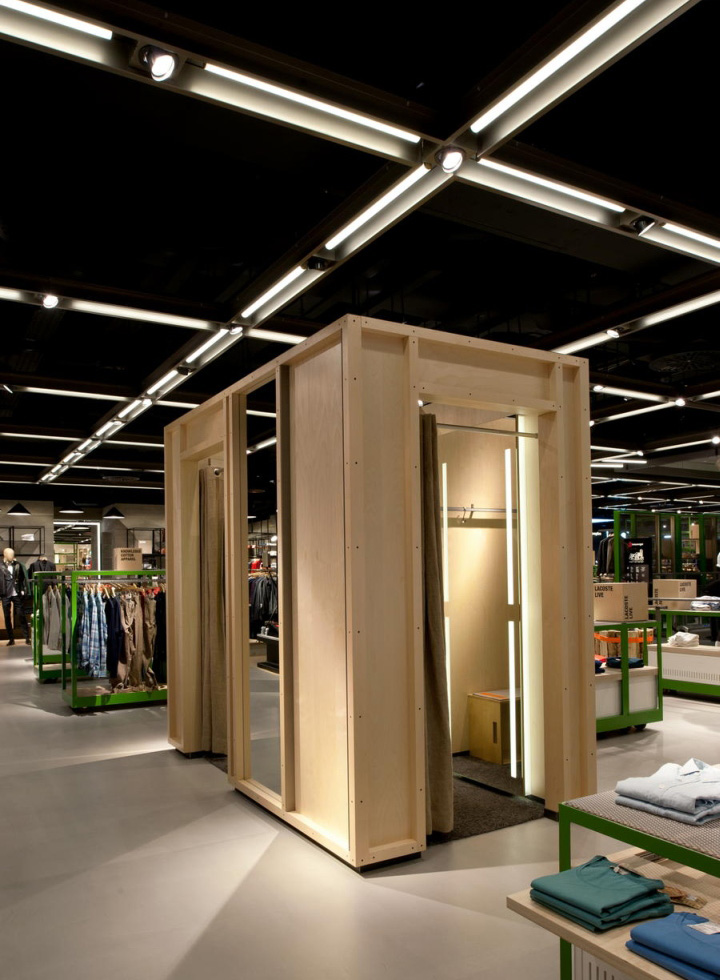 Fitting Room Designs For Retail: Breuninger Department Store, Menswear Area By Brinkworth