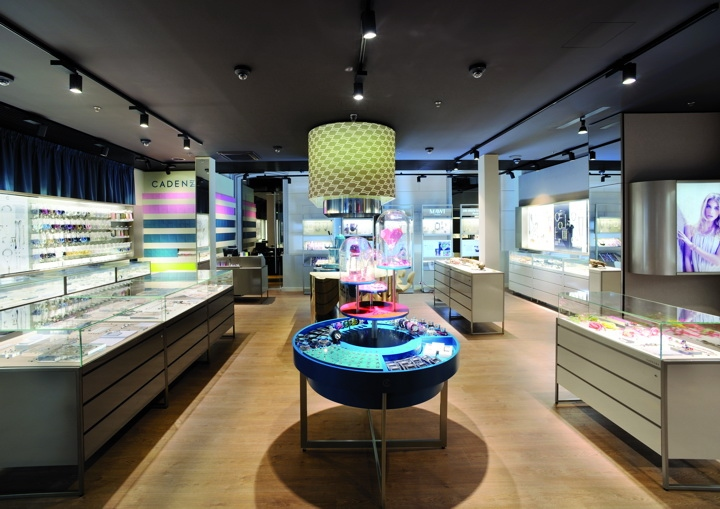 cadenzza珠宝店空间设计