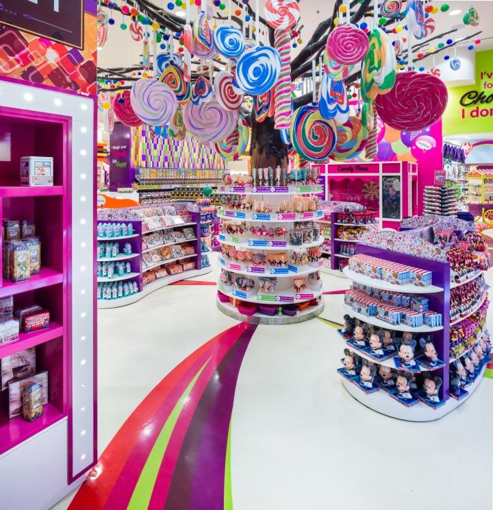 Candylicious at the dubai mall by studio em dubai uae for International decor uae