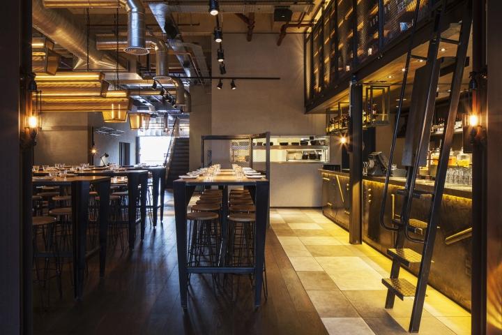 Chai ki restaurant by designlsm london uk retail for Interior designers central london