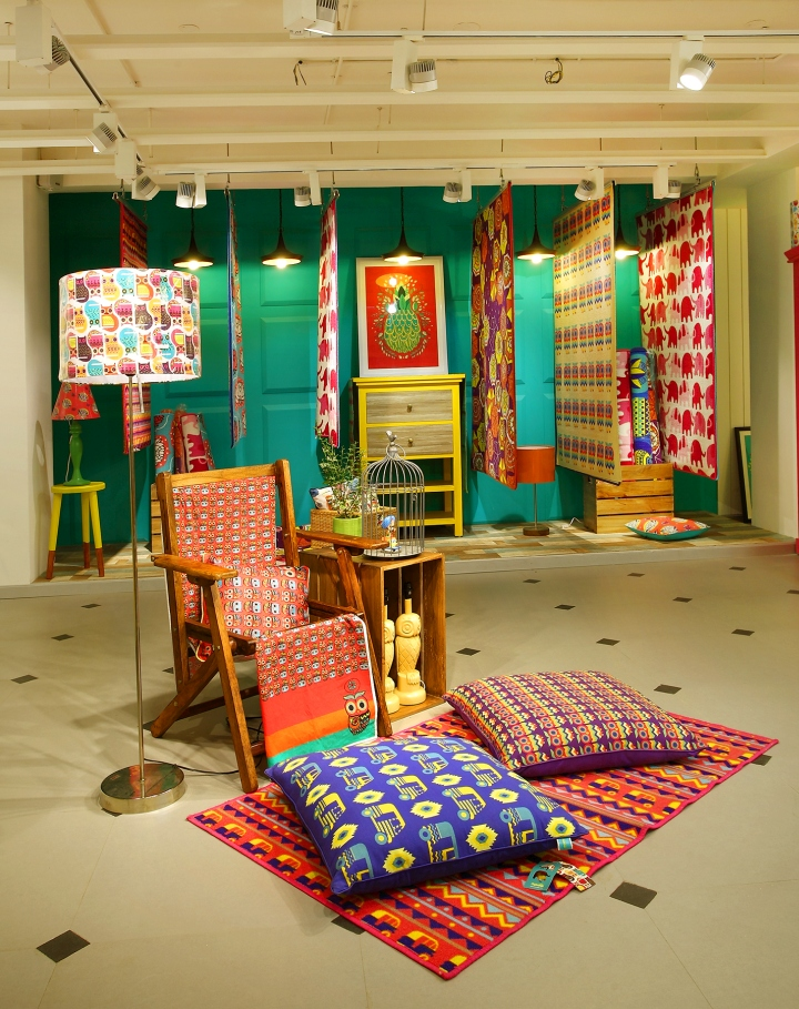 Chumbak store by 4d bangalore india retail design blog Home decor stores india