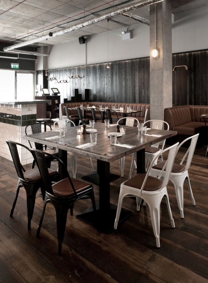 Restaurant Design Northern Ireland : Coppi restaurant by terry design belfast northern