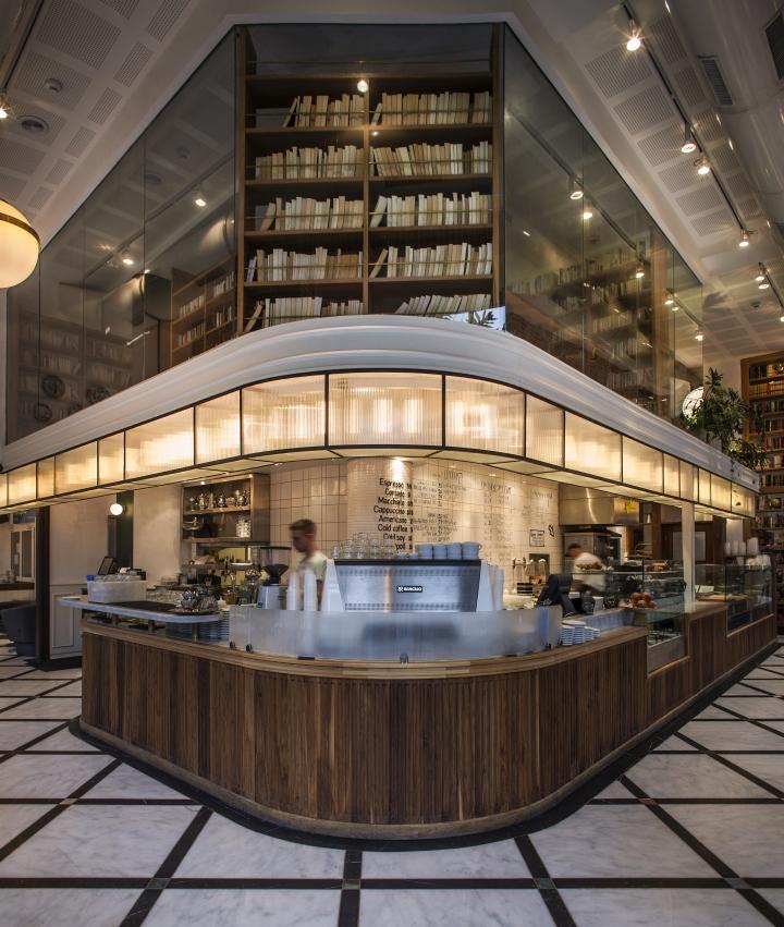 Dada da restaurant deli bar by studio yaron tal tel