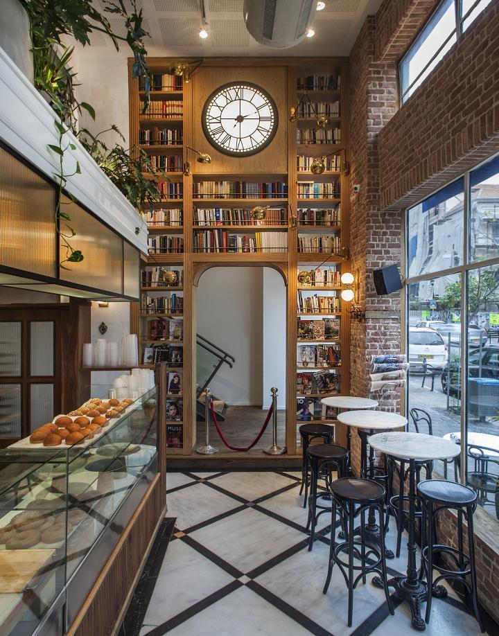 Retail design — dada da restaurant deli bar by