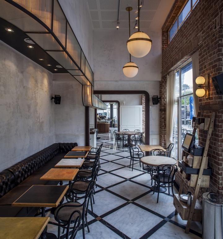 Dada Amp Da Restaurant Deli Amp Bar By Studio Yaron Tal Tel