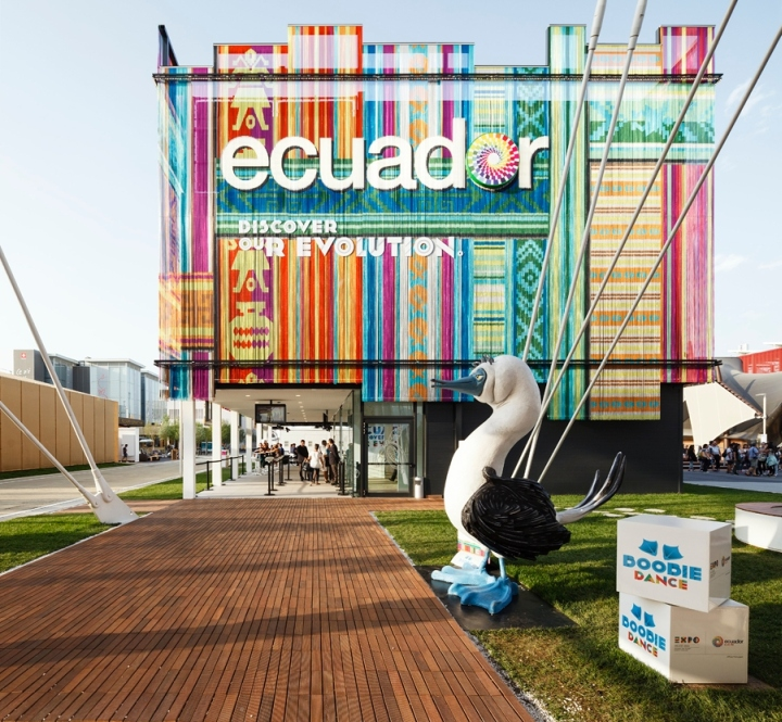Expo Milano Stand Ecuador : Ecuador s pavilion at expo milano retail design