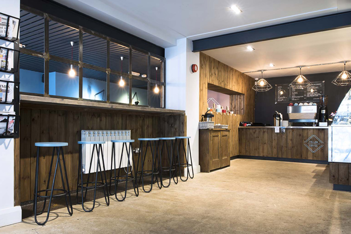 The Owner Of Follow Coffee Approached Terry Design To Create A Concept That Would Stand Out In Ballymenas Scene Interior Needed Be Leisurely