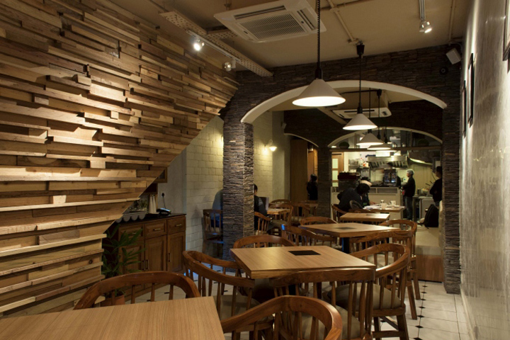French press café by design chandigarh india