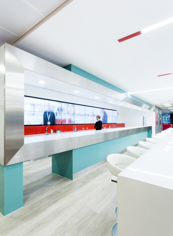 The Engine Room Design: GSMA Headquarters By Engine Room Design & The Interiors