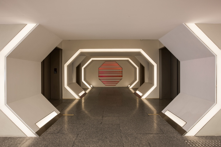 Genesis commercial building lobby creative working space for Commercial space design