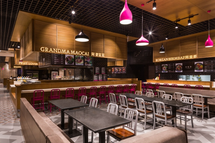 Home park high quality food store by triad china harbin china for Home design store merrick park