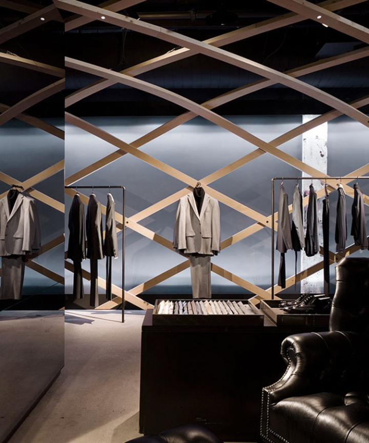 hugo boss concept store by matteo thun partners new york city. Black Bedroom Furniture Sets. Home Design Ideas