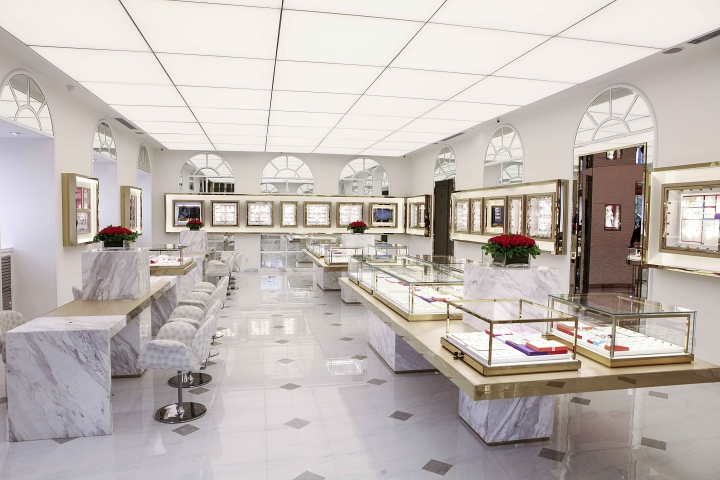 Jewellery retail design blog for Retail space design