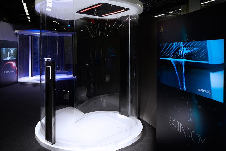 Jaquar Exhibit Design At ISH By Foley Designs Frankfurt Germany