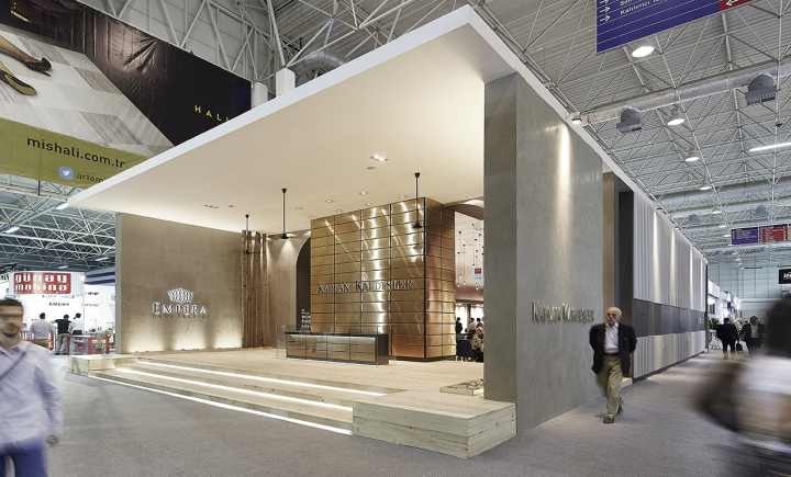 Exhibition Stand Design In London : Kaplan kardeşler carpet stand by yerce architecture at