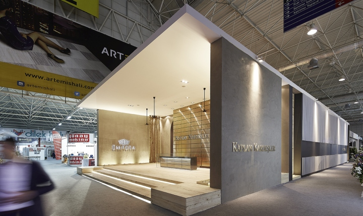 Exhibition Stand Carpet : Kaplan kardeşler carpet stand by yerce architecture at domotex