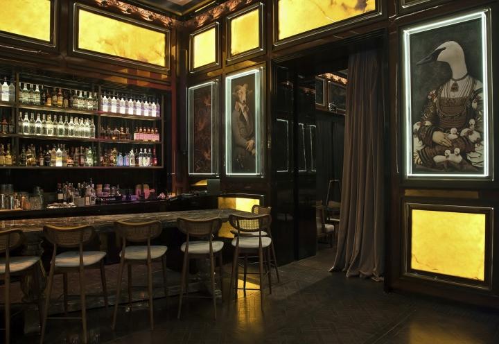 Konsolos restaurant by geoid istanbul turkey retail for Dekor hotel istanbul