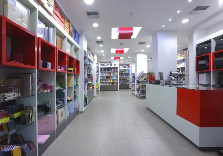 Kyvos Stationery Shop By Lefteris Tsikandilakis Heraklion Greece