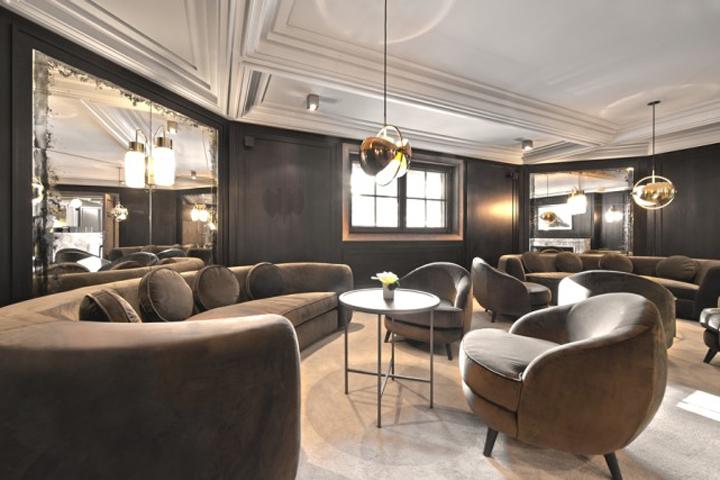 L apog e courchevel ski resort france for Design skihotel