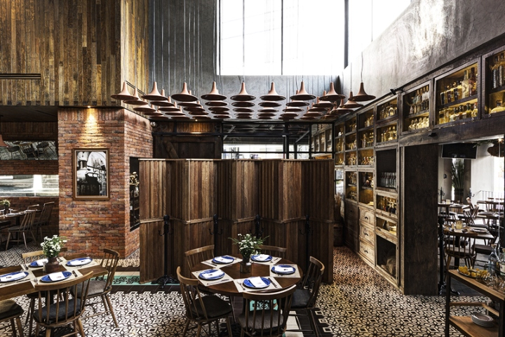 The Abundance Of Rustic Texture Applied With Precision Onto A Contemporary Architectural Language Is Analogous To Restaurants Cuisine