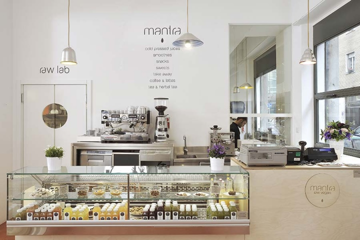 Mantra restaurant branding and interior by supercake