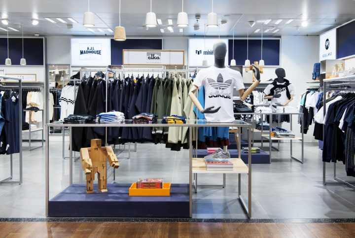 The Concept Store Establishes A New Destination For High Fashion Menswear  With A Savvy Young Design Language And A Minimalist Approach To Detail.  Interior ...