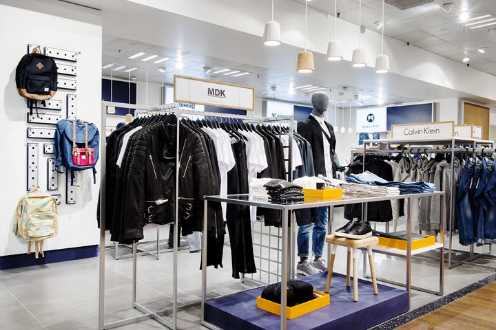 Menu0027s The Lab Is A High Fashion Concept Store Designed By Magasin Du Nord.  Inspired By The Urban Metropolis Of The World And The Vibrant Coolness Of  The ...