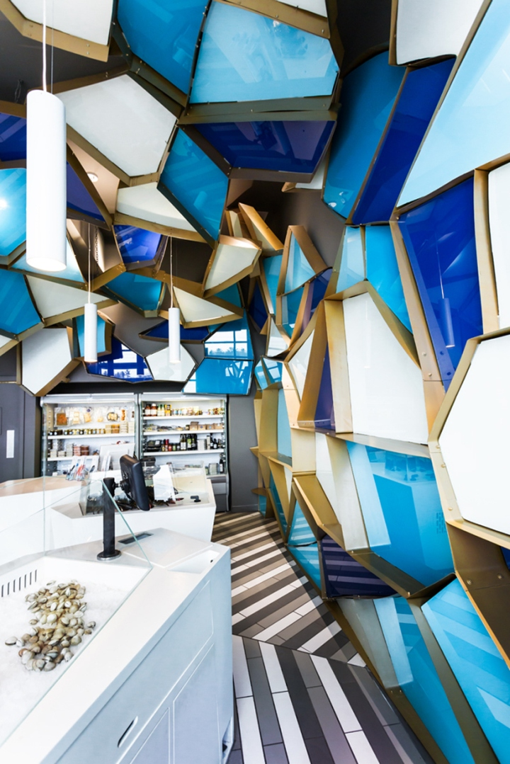 Némeau Seafood Shop by Jean de Lessard, Québec City – Canada » Retail Design Blog