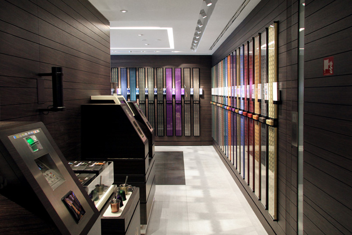 nespresso flagship store by parisotto formenton milan italy retail design blog. Black Bedroom Furniture Sets. Home Design Ideas