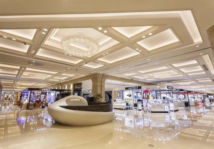 Shanghai new world daimaru department store by j front design