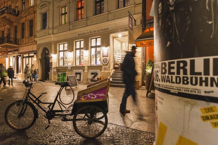 Oelmuehle an der Havel Berlin