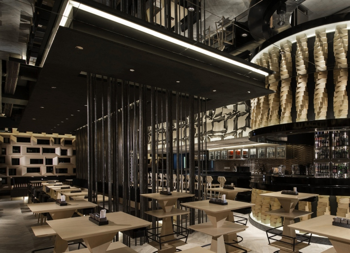 Ore no kappa restaurant by yo co hong kong china for Architecture kappa