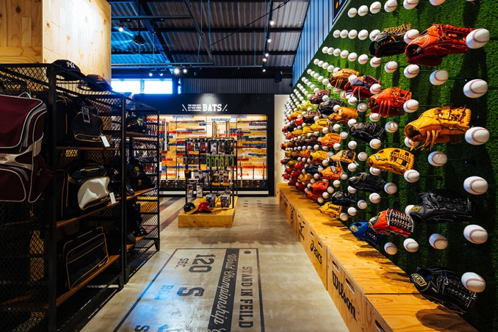 STANDIN Baseball Store By Design Office Dress Fukuoka Japan Retail Blog