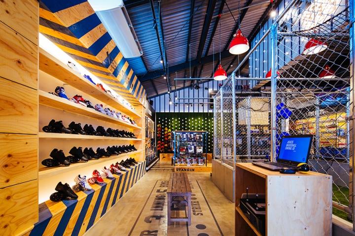 STANDIN Baseball Store By Design Office Dress Fukuoka Japan