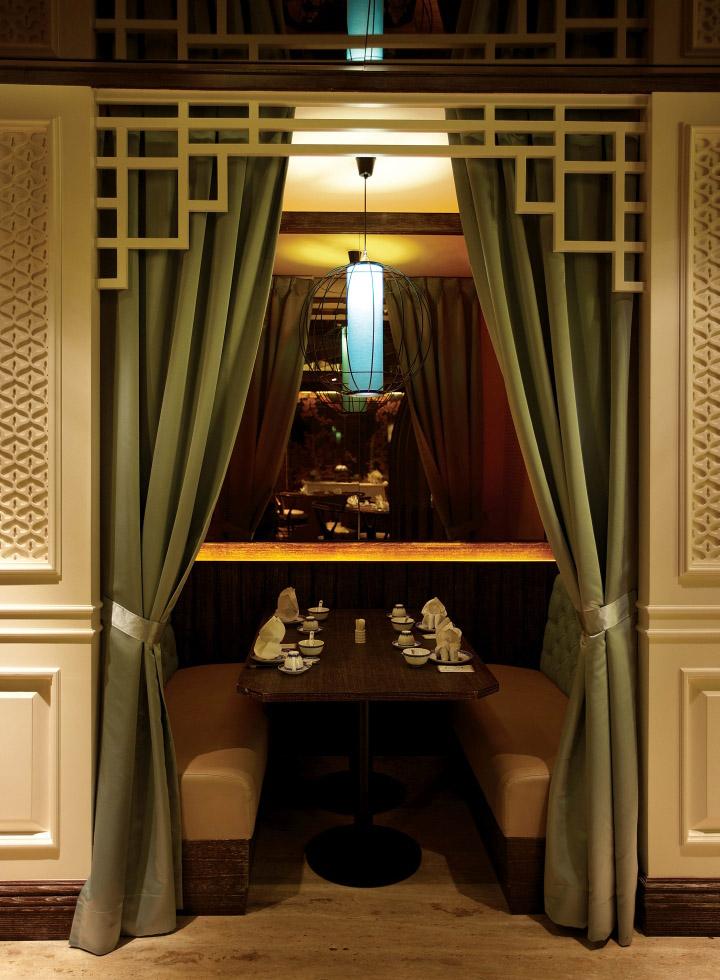 Taste paradise restaurant by metaphor interior at plaza for Gavin interior design jakarta