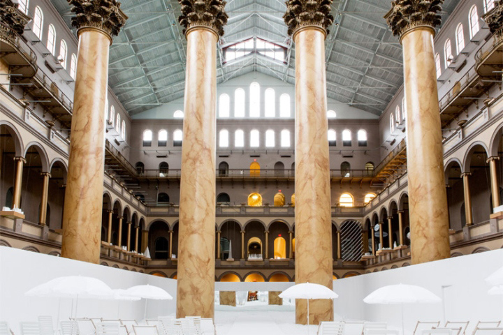 Foyer Museum Washington Dc : The beach installation by snarkitecture at national