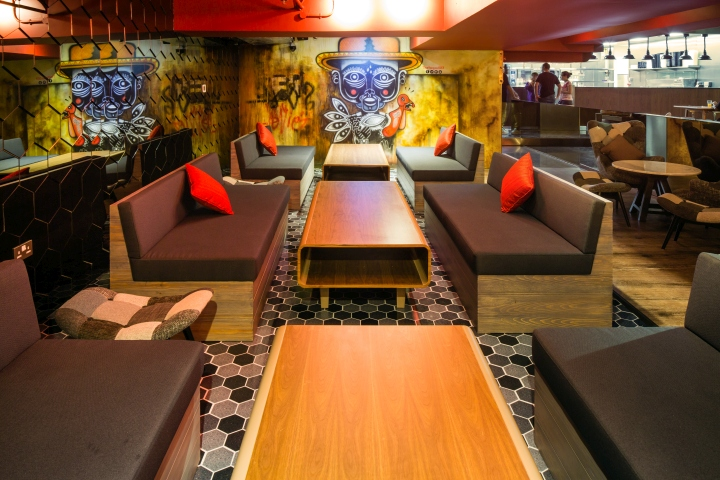 The hangout restaurant lounge by studio em dubai uae