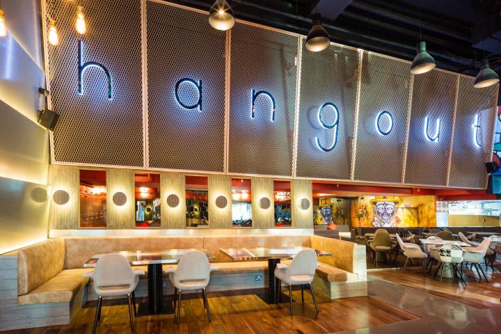 The Hangout Restaurant Lounge By Studio Em Dubai Uae