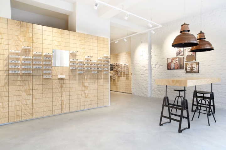 eyewear shop  eyewear 禄 Retail Design Blog