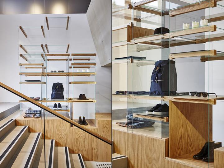 187 A P C Store By Laurent Deroo Sydney Australia