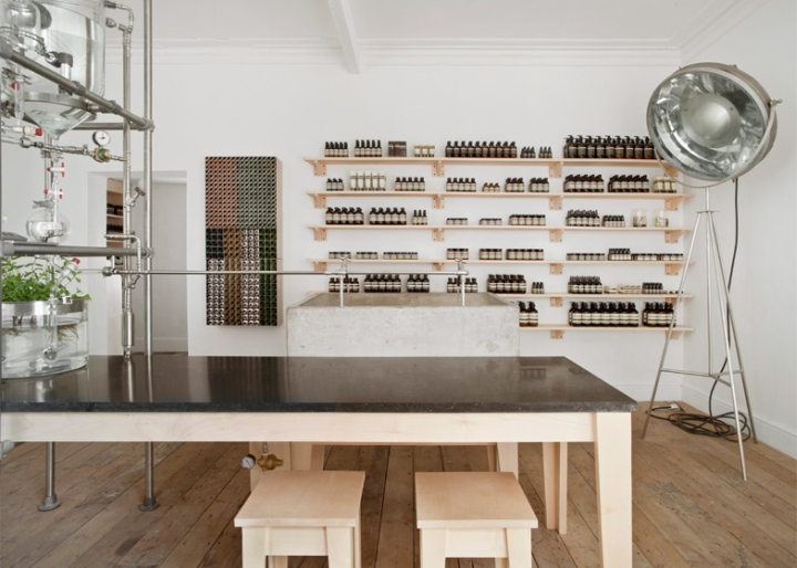 Aesop Rough Trade Nottingham Store By Cigu Nottingham